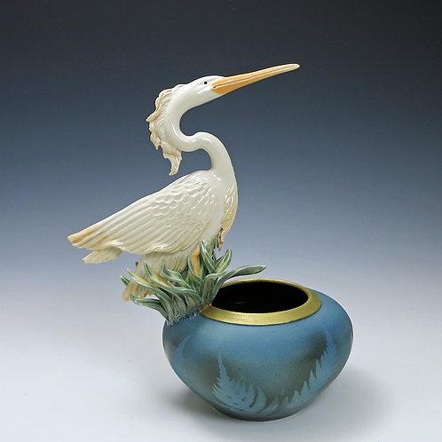 Heron Fern Bowl
