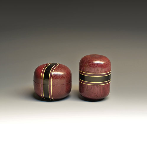 Pair of Double Lidded Boxes