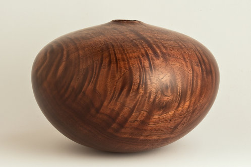Natural Curly Walnut Hollow