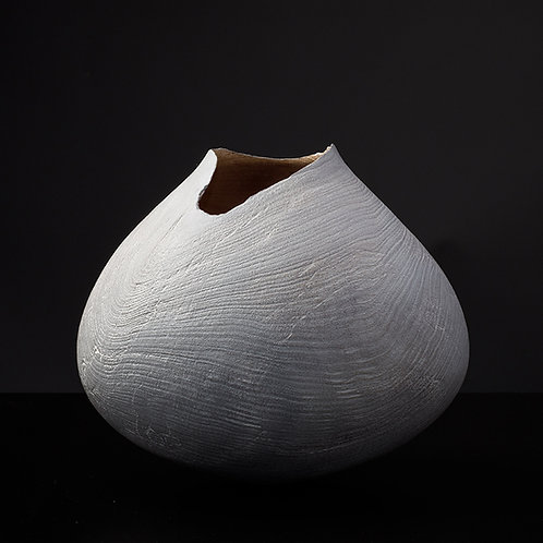 Limed Sycamore Vessel