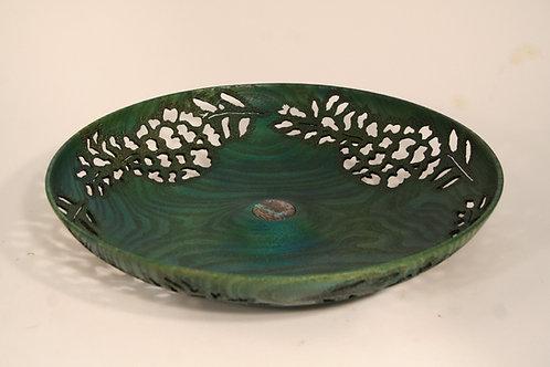 Turquoise Wisteria Bowl