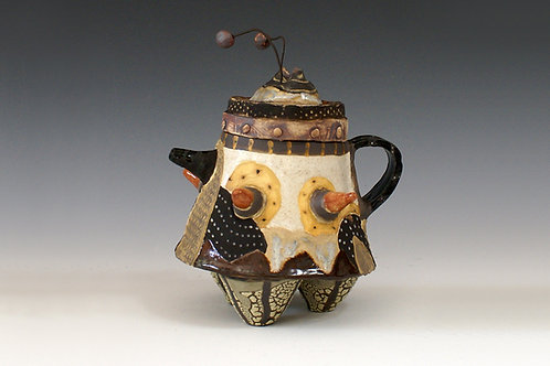 Teapot with Two Beads