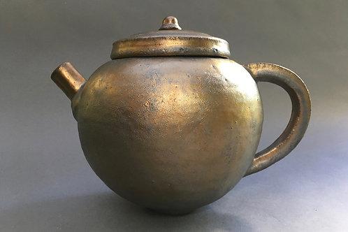 Gold Luster Teapot