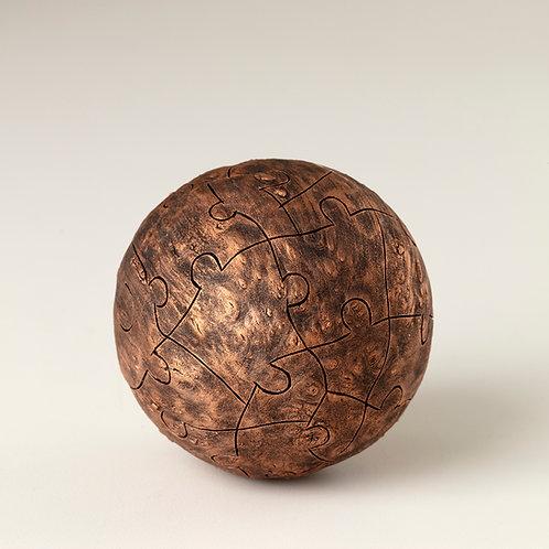 Copper Puzzle Illusion Sphere