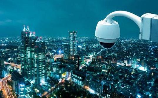 41786564-cctv-camera-operating-with-city