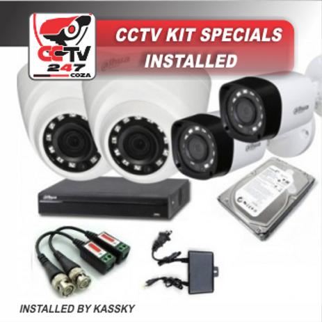 CCTV 4 CHANNEL KIT