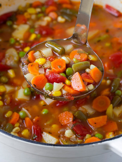 FRIDAY - Freshly Made Soup Day!!
