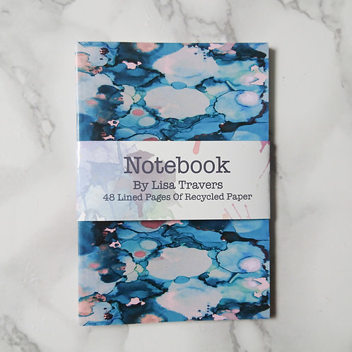 Blue A6 Notebooks