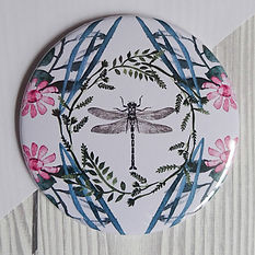 pocket-mirror-pink-dragonfly-lisa-traver