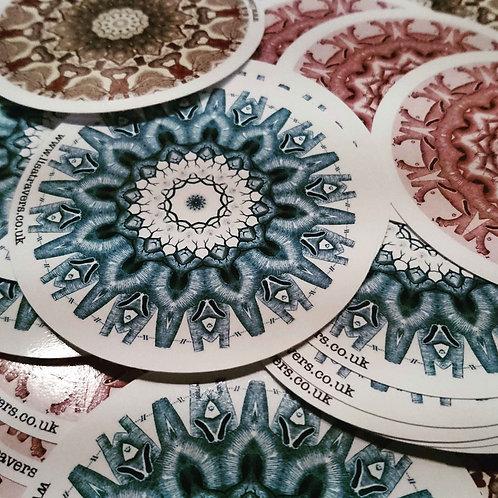 Mix round stickers