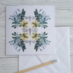 Lisa Travers Card Yellow Dragonfly.jpg