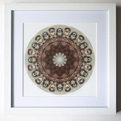 Eye Mandala Framed Print