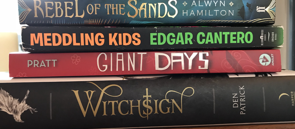 August Books Round Up