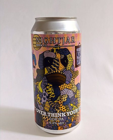Don't Overthink Your Socks DDH IPA ABV 6.2% (440ml)