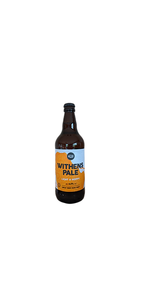 Withens Pale ABV 4.2% (500ml)