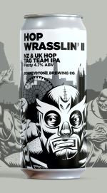 Hop Wrasslin'II ABV 4.7% (440ml)