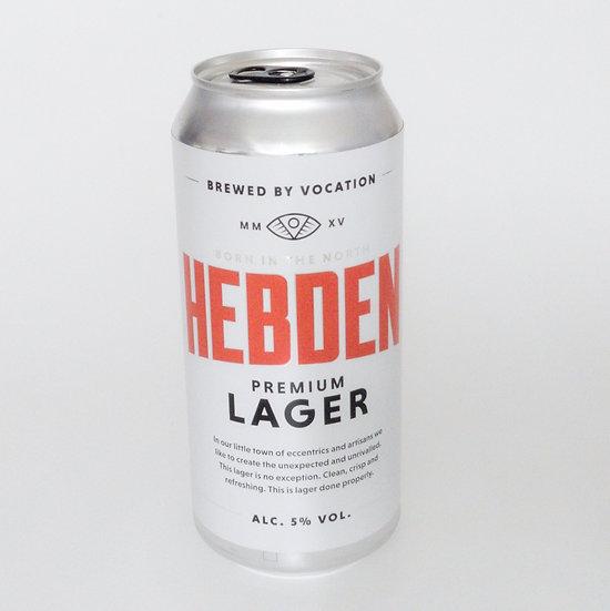 Hebden Lager ABV 5% (440ml)