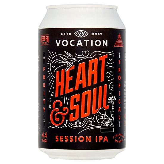 Heart & Soul ABV 4.4% (330ml)