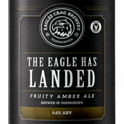 The Eagle has Landed Fruity Amber Ale ABV 4.6%