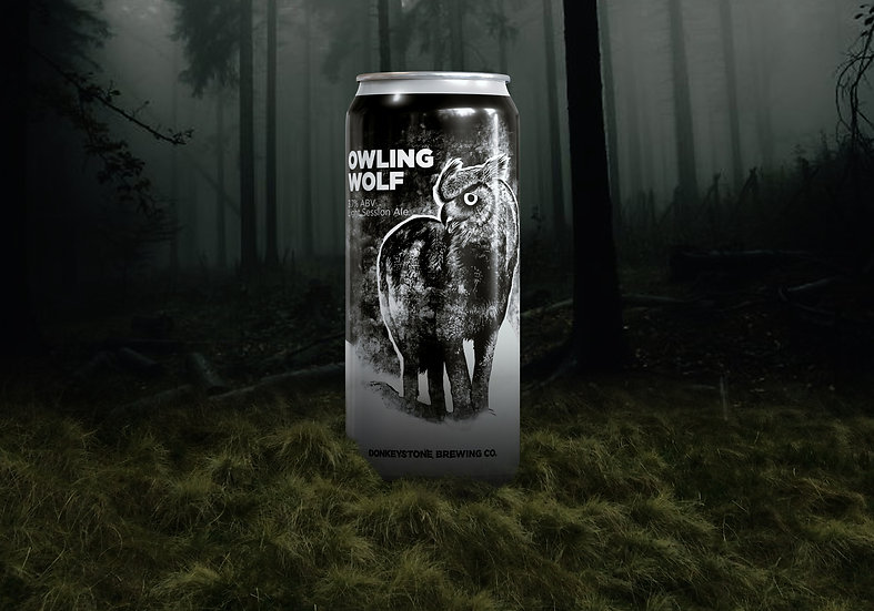 Owlingwolf Session Pale Ale ABV 3.7% (440ml)