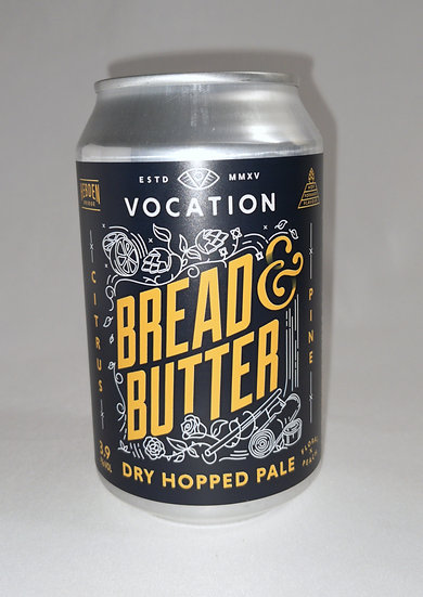 Bread & Butter Dry Hopped Ale ABV 3.9% (330ml)