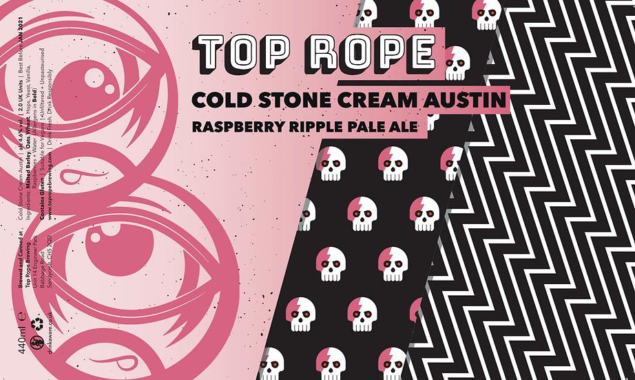 Cold Stone Cream Austin Raspberry Ripple Pale Ale ABV 5.1% (440ml)