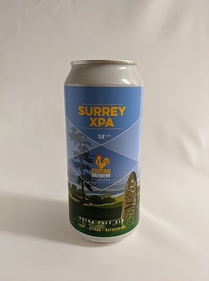 Surrey XPA Extra Pale Ale ABV 3.8% (440ml)