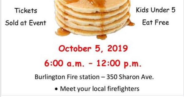 Burlington Firefighter's Annual Pancake