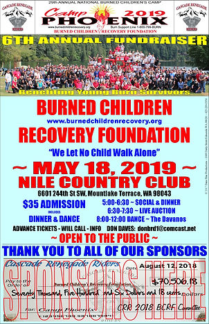 Burned Children Recovery Foundation 5-18