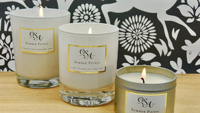 Natural Wax Candle Care