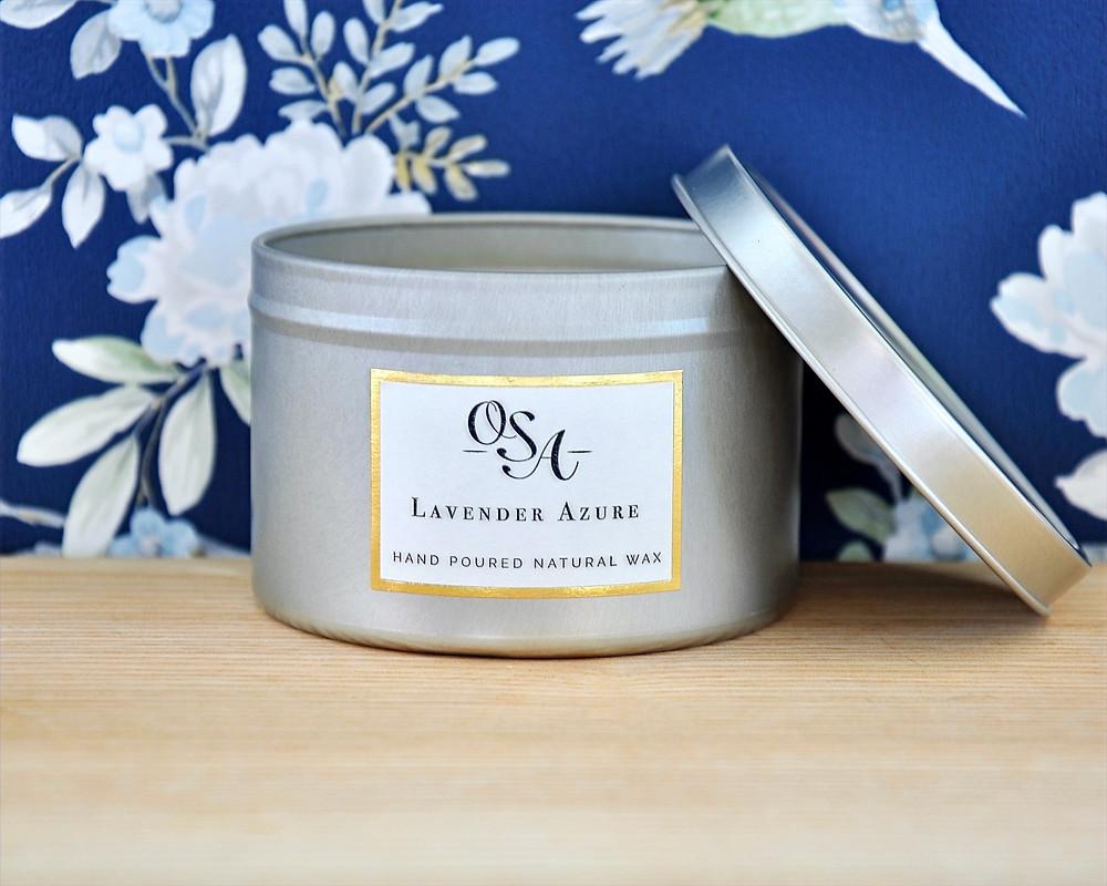 OSA Lavender Azure Candle