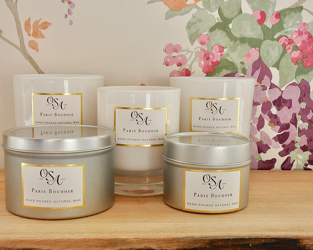 OSA scented candles are now available in five sizes