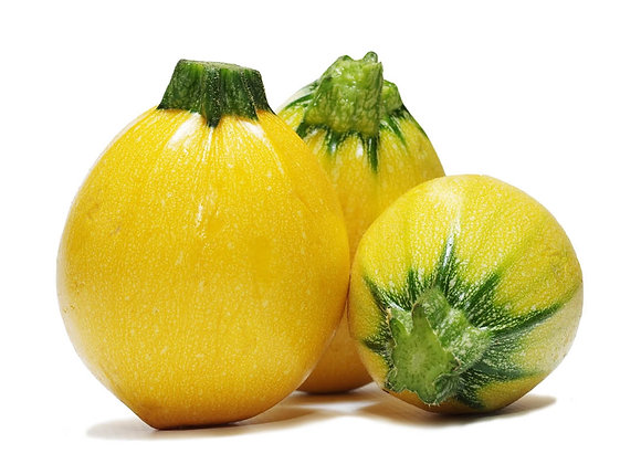 Courgette ronde jaune