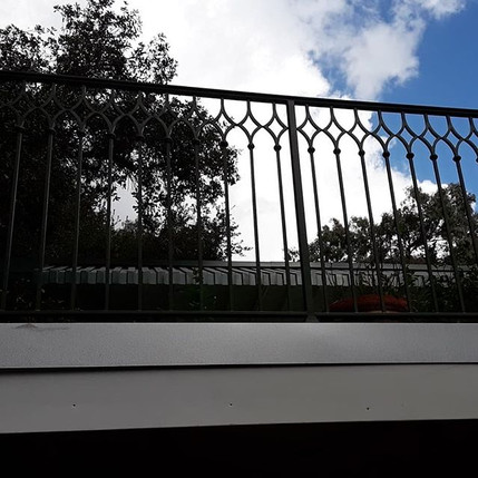 Underestimated how much work this balcon