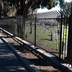 Security fence #theprofessionalironworks #sanbernardino #sanbernardinocounty #ontario #lacounty #orangecounty #riversidecounty #fence #ironw