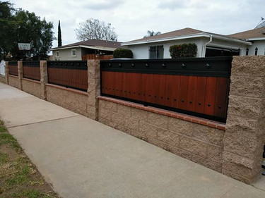 Love the way these fence panels came out