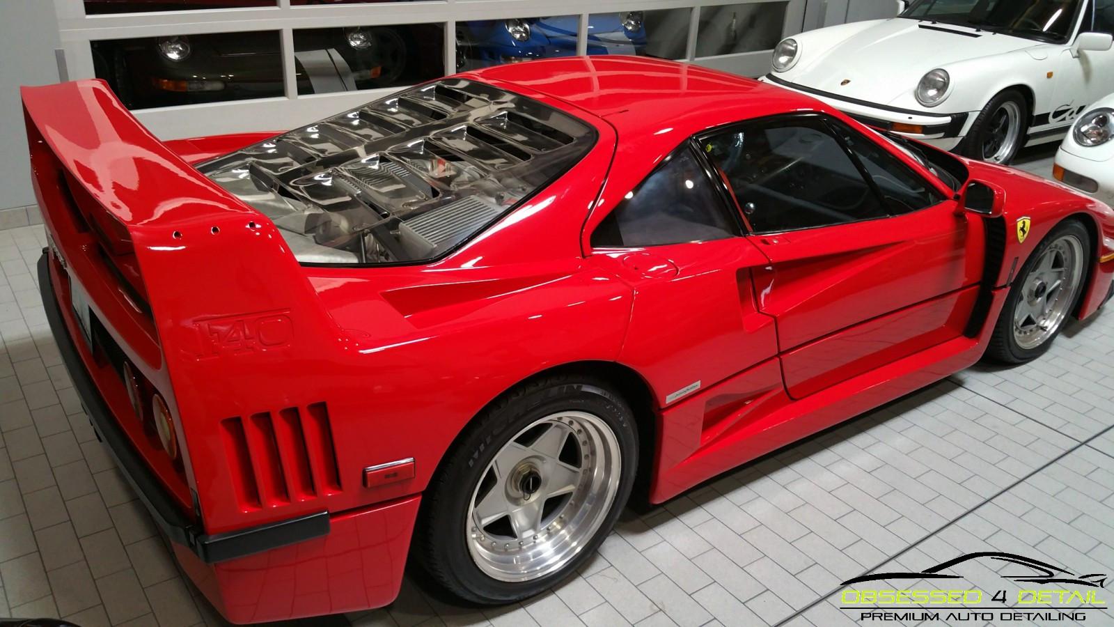 Obsessed 4 Detail - Ferrari F40 - Auto D