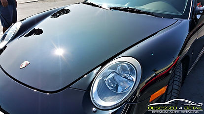 Obsessed 4 Detail - Porsche 911 - Paint
