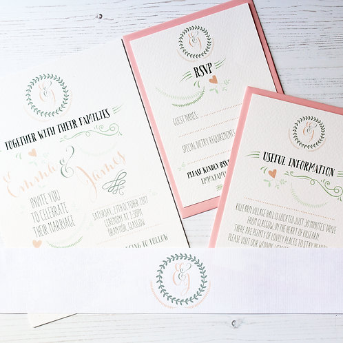 Day Dream Believer - Wedding Stationery Package