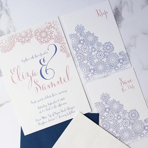 Marrakesh - Wedding Stationery Sample Pack