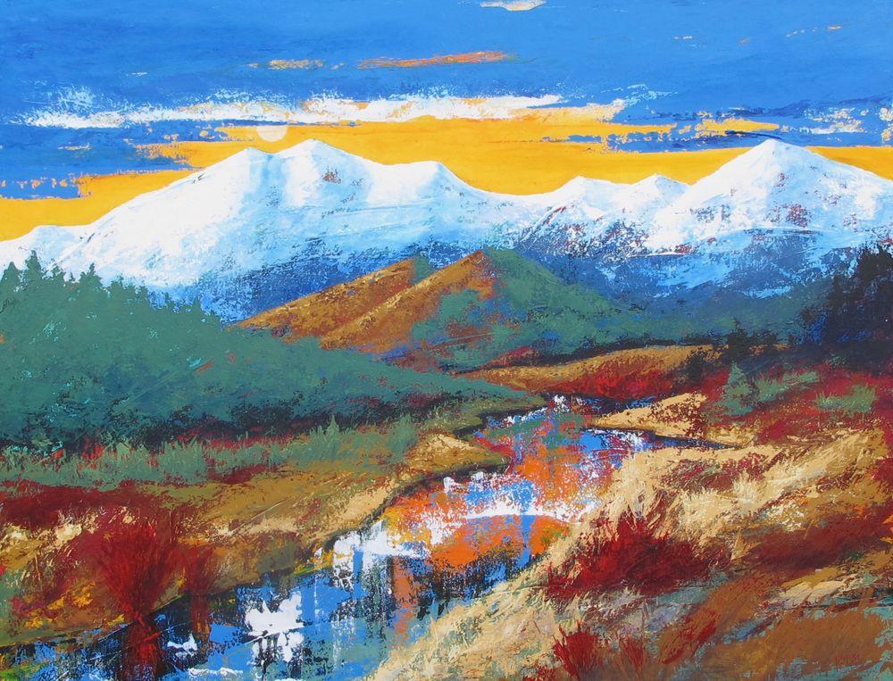 Mount Evans Valley