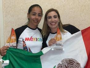 Felicidades Pamela y Katia por el 2º lugar Mundial de Hobie Cat 2019!!