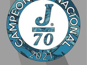 Otro gran Campeonato Nacional 2021  esta vez de la clase J70