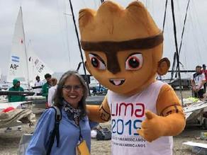 Dirige Beatriz González Luna Comité de Juegos Regionales en vela mundial ¡Enhorabuena!