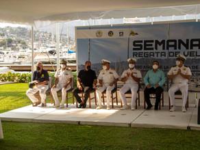 """La Semana de vela ligera y oceánica - 200 años de la Armada"""" de México en Acapulco todo un éxito!!"""