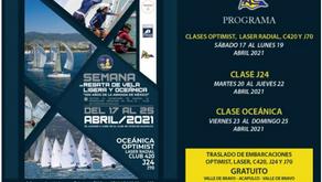 """Empieza la """"Semana de vela ligera y oceánica - 200 años de la Armada"""" de México en Acapulco"""