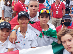 ¿Participación del equipo mexicano de Optimist en Campeonato Mundial en Riva de Garda Italia!
