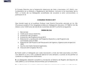 Congreso Técnico FMV 2019, a celebrarse el 04 de noviembre.