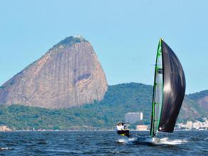 Magnifico 2º lugar en el Campeonato sudamericano de 49er para el EquipoBelauste!!