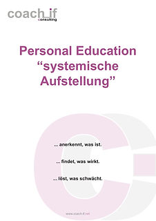 Personal Education - syst. Aufstellung _